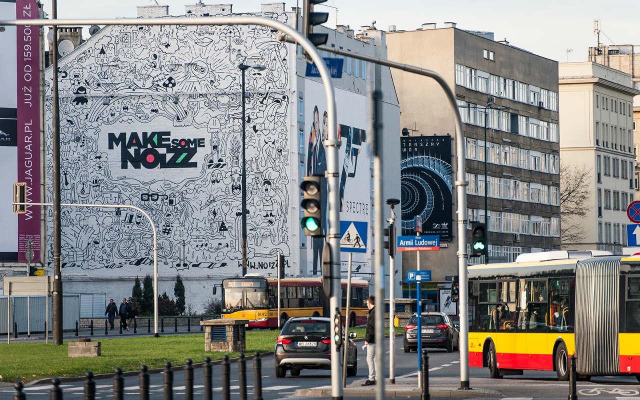 Good Looking Studio - mural Warszawa