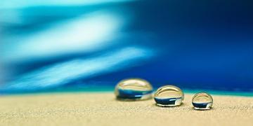 rople wody hydrofobowość