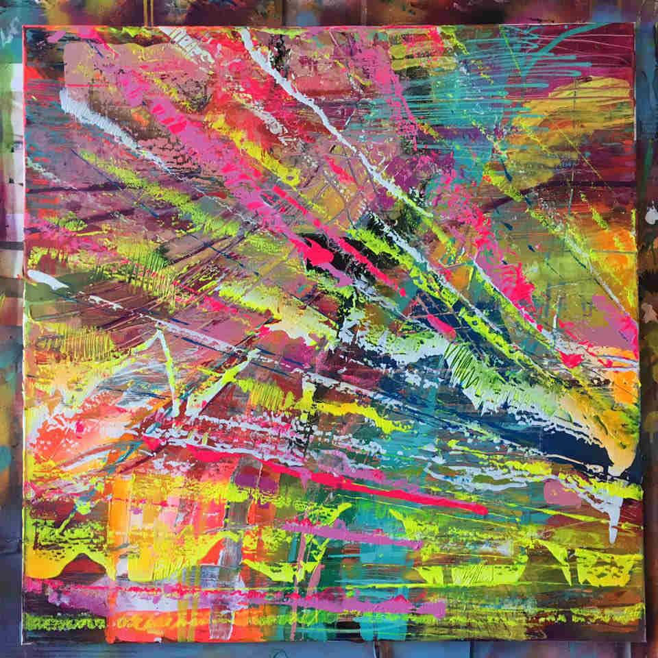 Szymon Hołubowski obraz, abstrakcja